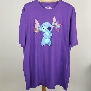 Disney Lilo & Stitch Devil T-Shirt, XXL